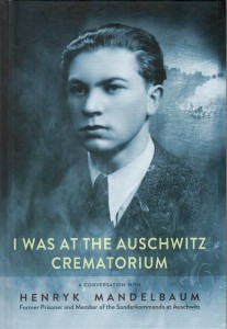 "Okładka książki pt. ""Ja z krematorium Auschwitz"""