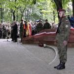 Pomnik na starym cmentarzu w Olkuszu, fot. 12.06.2005 r.