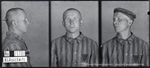 Antoni Łyko (nr 11780), zdjęcie wykonane przez obozowe gestapo