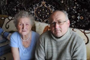 Kazimiera Suwała i Marek Księżarczyk, fot. z 2011 r.