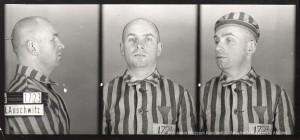 Władysław Dering, zdjęcie wykonane przez obozowe gestapo