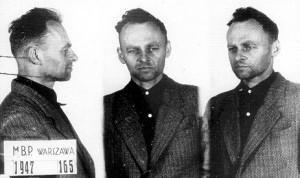 Witold Pilecki, zdjęcie wykonane w więzieniu na Mokotowie, 1947 r.