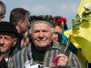Petro Fedorowicz Miszczuk był więziony w jednym z podobozów KL Buchenwald od stycznia do kwietnia 1945 r.