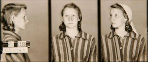 Zofia Posmysz, zdjęcie wykonane przez obozowe gestapo