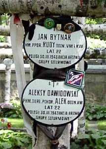 Cmentarz Wojskowy na Powązkach w Warszawie