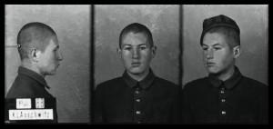 Zygmunt Sobolewski, zdjęcie wykonane przez obozowe gestapo