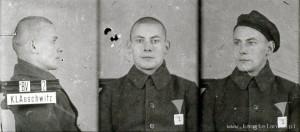 Otto Küsel, zdjęcie wykonane przez obozowe gestapo