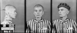 Jerzy Laudański, zdjęcie wykonane przez obozowe gestapo