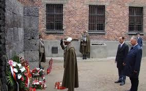 Ściana Straceń w Muzeum Auschwitz